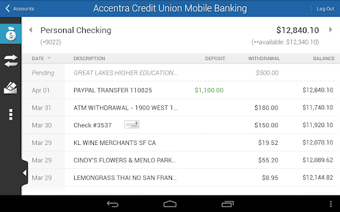 Accentra Credit Union Mobile- screenshot thumbnail
