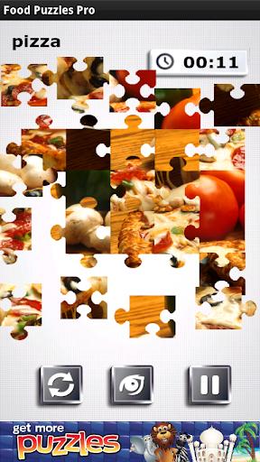 食品パズル - 無料とおいしい