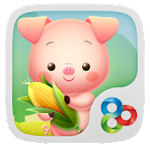 Piggy GO Launcher Theme