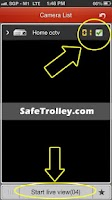 Screenshot of SafeTrolley CCTV
