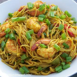 Shrimp & Singapore Noodles