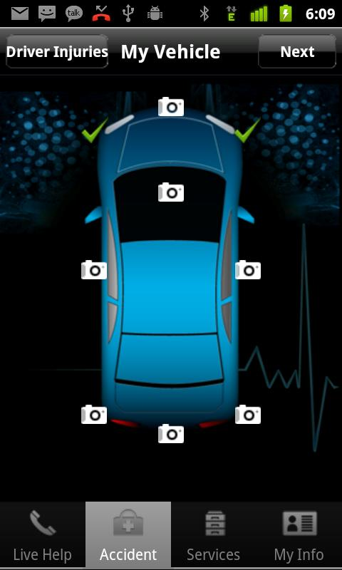 Auto Accident App- screenshot