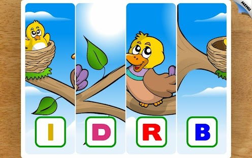 Kids Animal First Words Puzzle - screenshot thumbnail