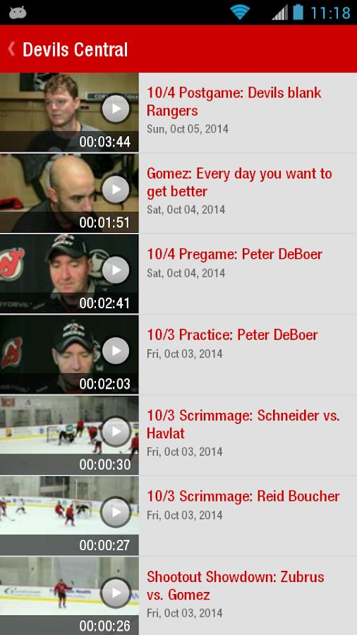 Official New Jersey Devils App - screenshot