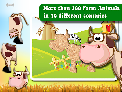Farm Animals Puzzle Kids Game v3.0.7
