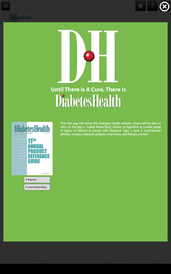 Diabetes Health- screenshot