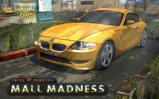 體育遊戲停車場在商場3D