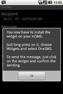 One SMS- screenshot thumbnail