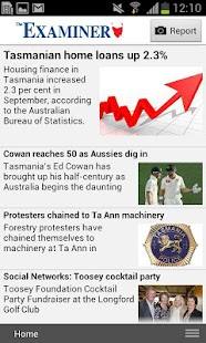 Launceston Examiner - screenshot thumbnail