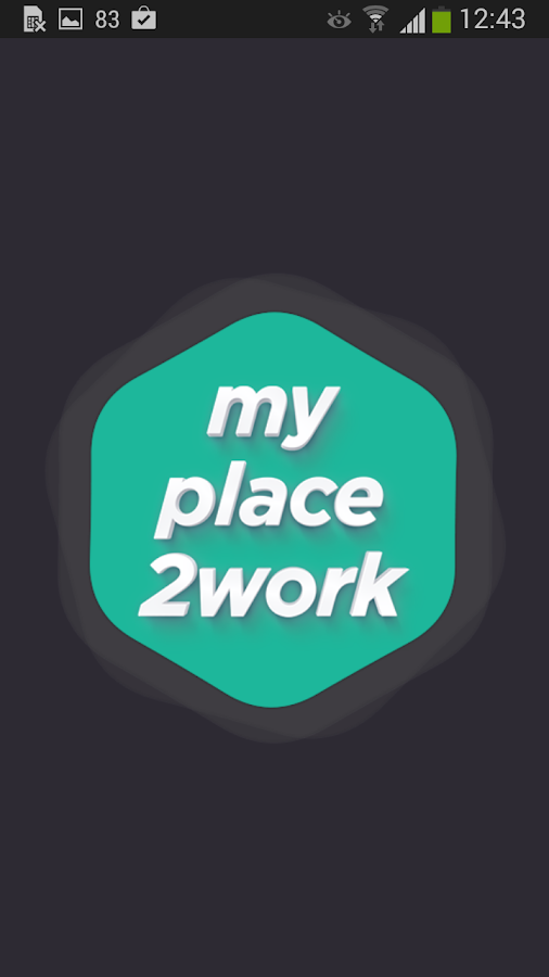 MyPlace2Work- screenshot