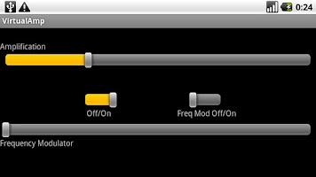 Screenshot of Virtual Amp