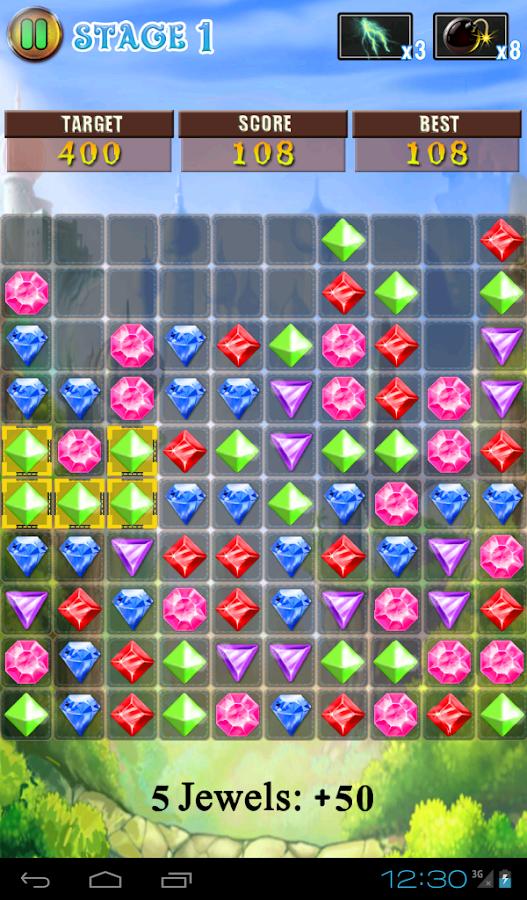 Jewels Pop - screenshot