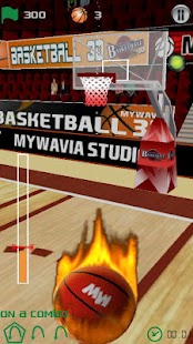 Basketball Games - 3D Frenzy - screenshot thumbnail