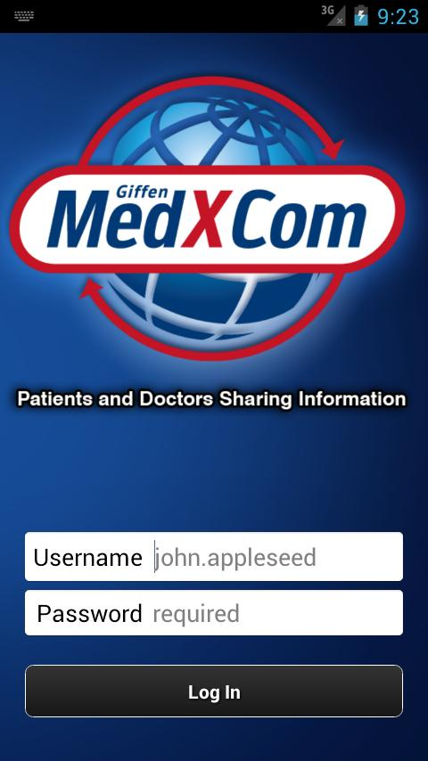 MedXCom for Physicians- screenshot