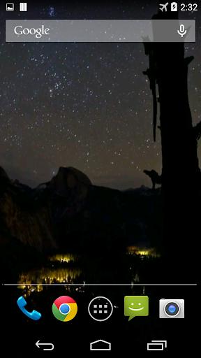 Night Video Live Wallpaper