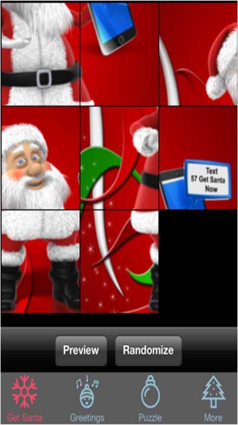 Get Santa Text- screenshot