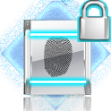 White FingerPrint Security icon