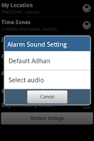Screenshot of Prayer Time & Qibla (Widget)