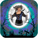 Scary Halloween Photo Frames icon