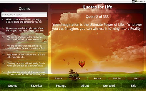My Quotes For Life - screenshot thumbnail