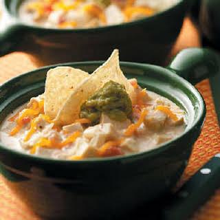 Cheesy Tortilla Soup.