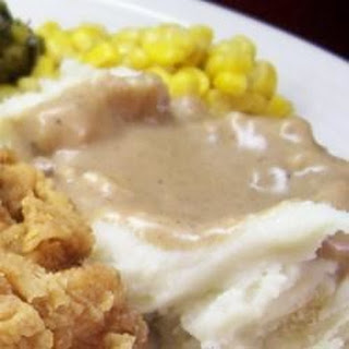 Old Fashioned Brown Gravy