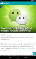 Screenshot of PaperBoy : A Feedly NewsReader