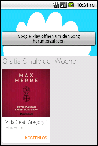 Song des Tages Free