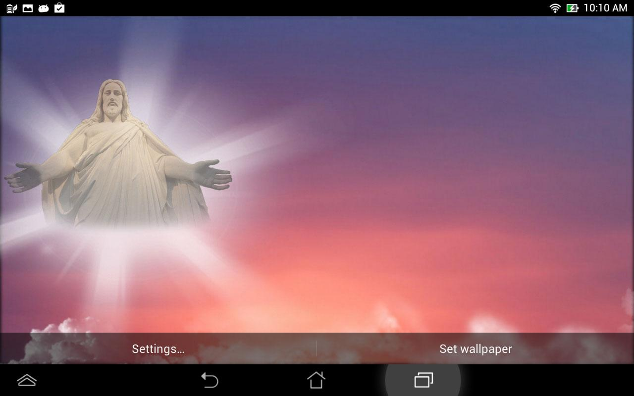 Jesus Live Wallpaper- screenshot