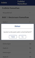 Screenshot of Fadhilat Ramadhan (Indonesian)