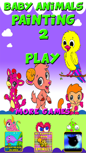Baby Animals Coloring 2