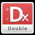 더블 키보드 레드(쿼티/천지인/한글 한자 키보드) icon