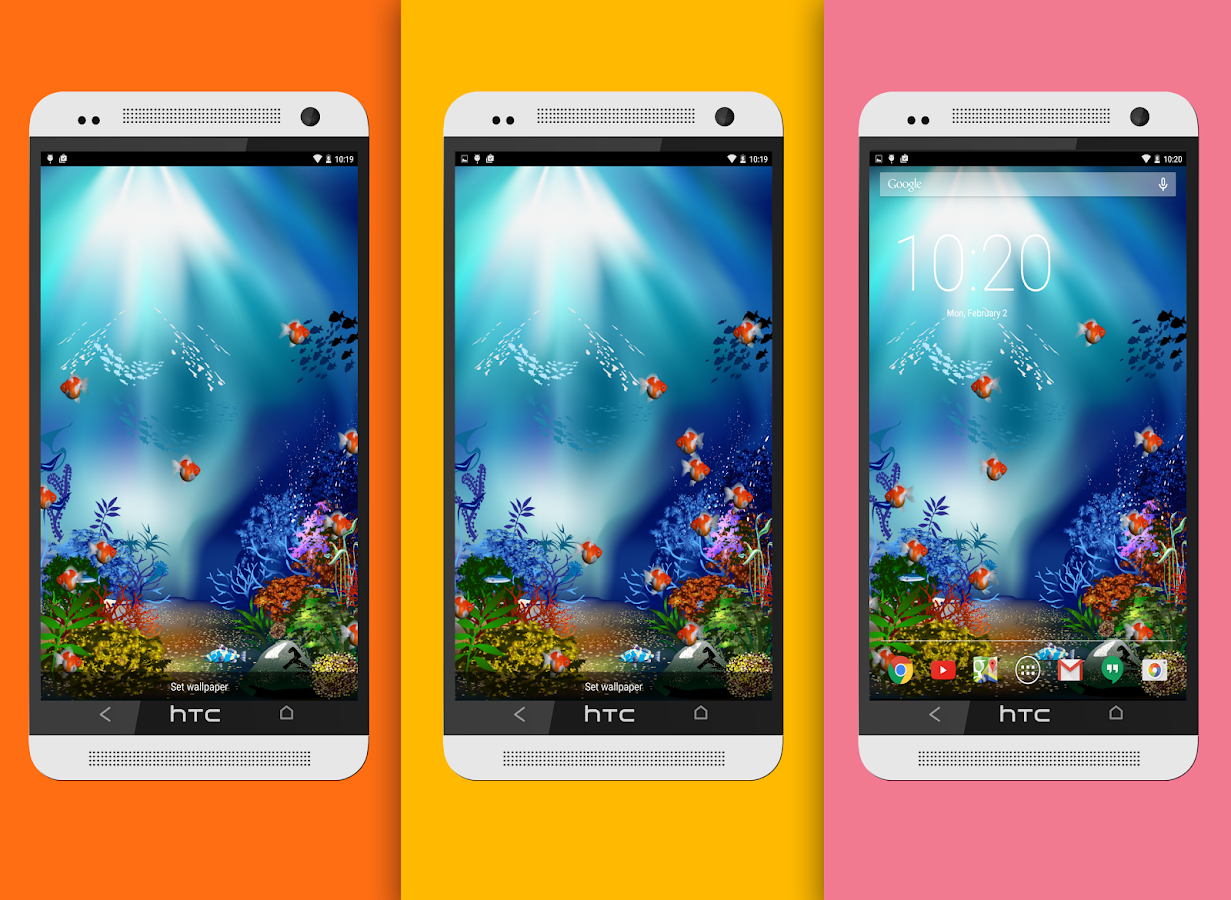 Aquarium fish live wallpaper android apps on google play for Aquarium fish online