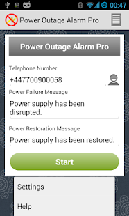 Power Outage Alarm Pro- screenshot thumbnail