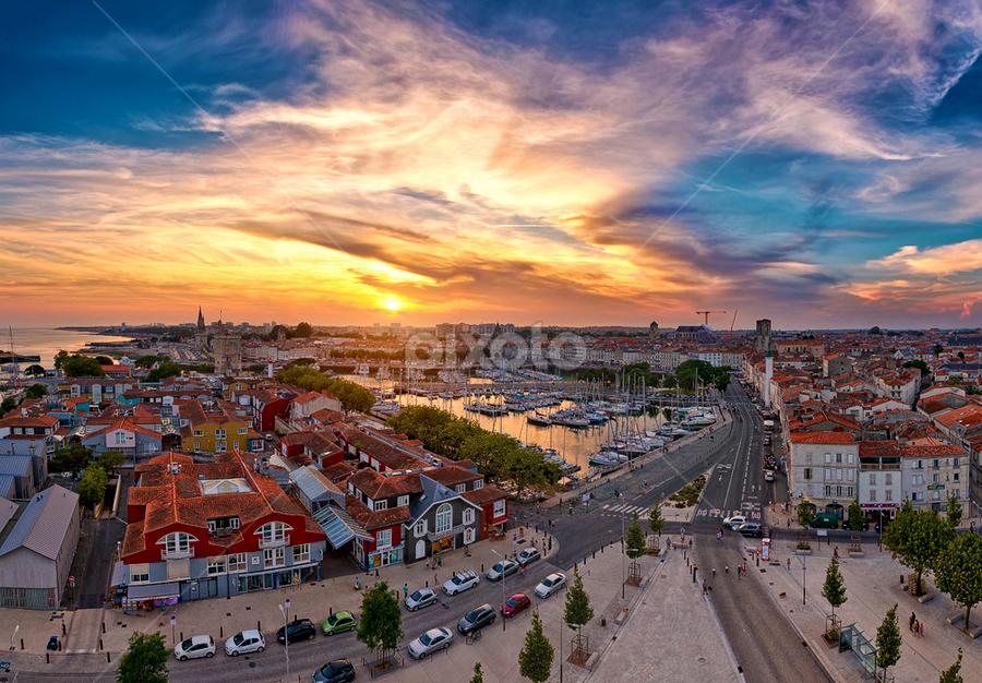La Rochelle by Sebastien Gaborit - City,  Street & Park  Vistas