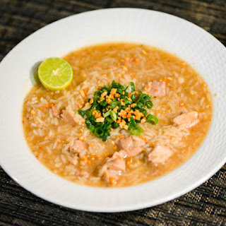 Arroz Caldo (Filipino Chicken and Rice Soup).