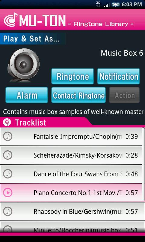 Music Box Library6(MU-TON)- screenshot
