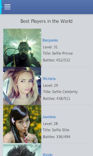 【免費益智App】Selfie Battle-APP點子