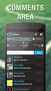 365Scores: Sports live scores - screenshot thumbnail