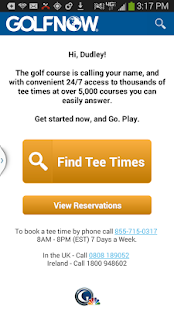 GolfNow - screenshot thumbnail