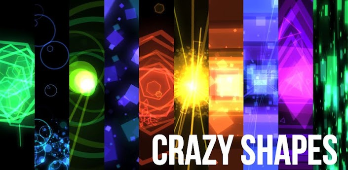 Crazy Shapes Live wallpaper