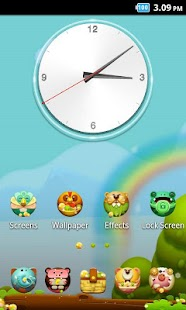Animal_Turbo Launcher Theme - screenshot thumbnail