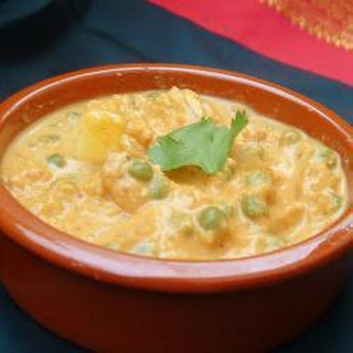Indian Mattar Paneer Recipe