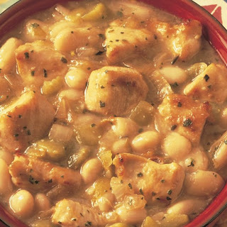 Spicy White Bean & Chicken Chili