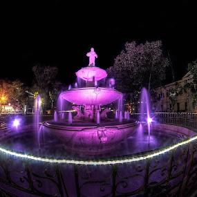 AURORA PARK by Chase Alog - City,  Street & Park  Night