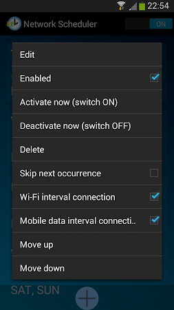 Network Scheduler Wifi 3G BT 1.6 screenshot 1353628