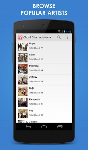 Kord Gitar Indonesia