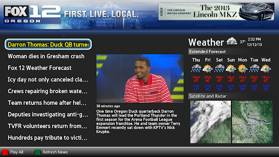 FOX 12 Oregon- screenshot thumbnail