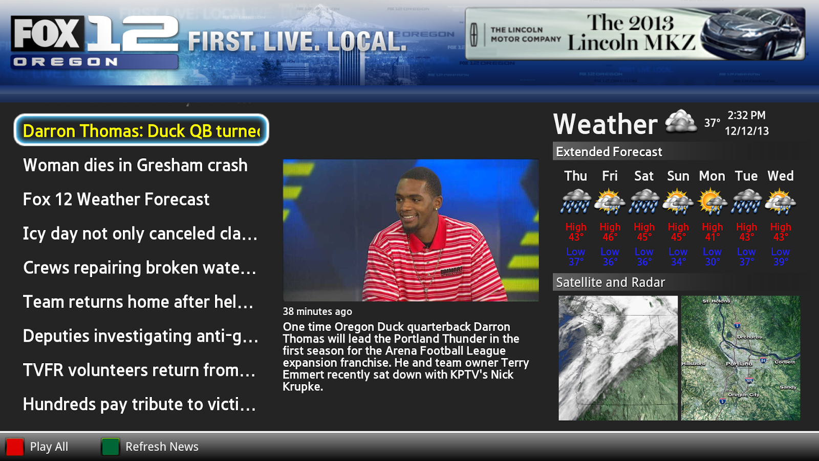 FOX 12 Oregon- screenshot