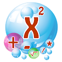 Learn Algebra Bubble Bath Game icon